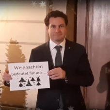 Weihnachtsgrüße aus Laxenburg