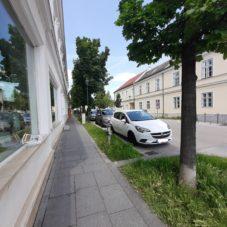 Umgestaltung der inneren Hofstraße